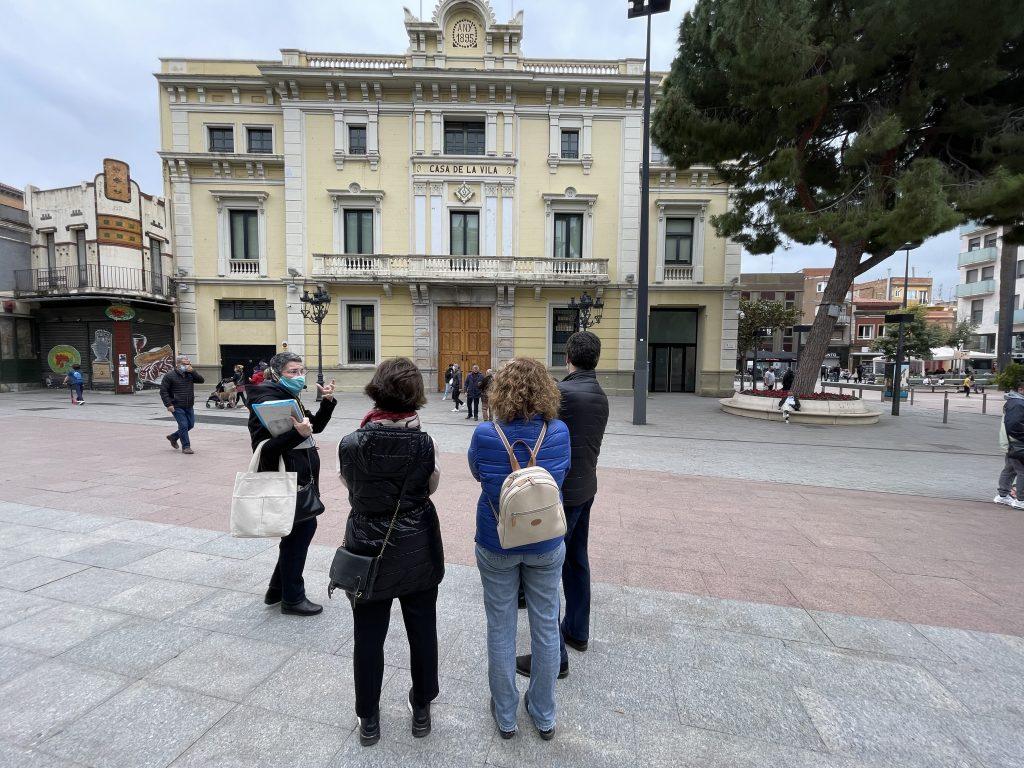 Ajuntament Hospitalet de Llobregat visita guiada
