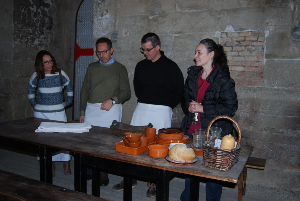 Cooking Castell de Gardeny