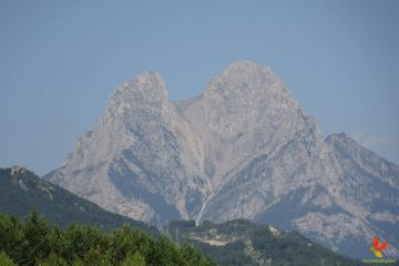 The summit of Pedraforca - skyline