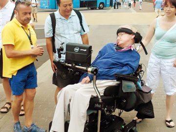 Stephen Hawking en Lanzarote