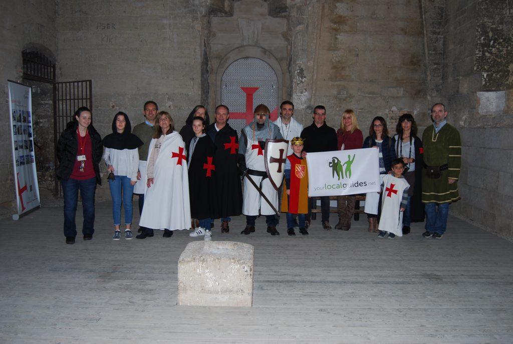 Templers per un dia Castell de Gardeny