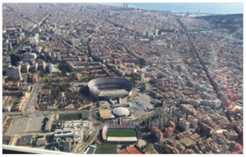 Barcelona helicopter guided tour
