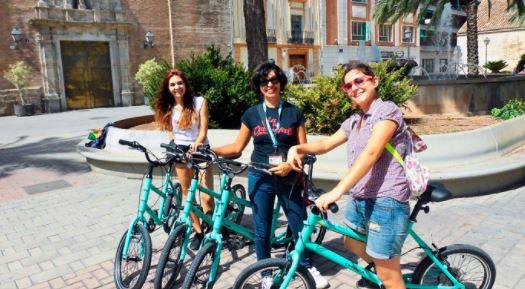 Valencia en bici El Cabanyal