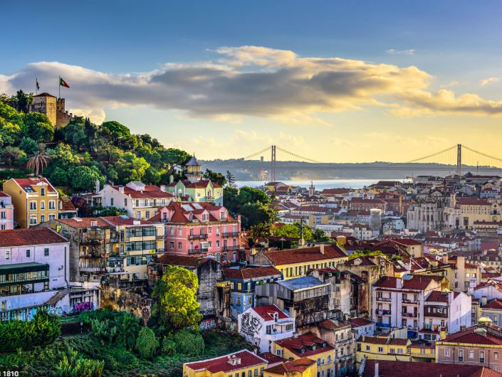 Walking tour Lisboa Portugal