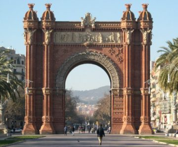 Arc Triomf Barcelona